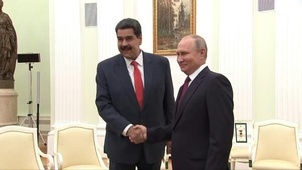 Putin celebra la visita de Maduro a Rusia y reafirma su apoyo al régimen