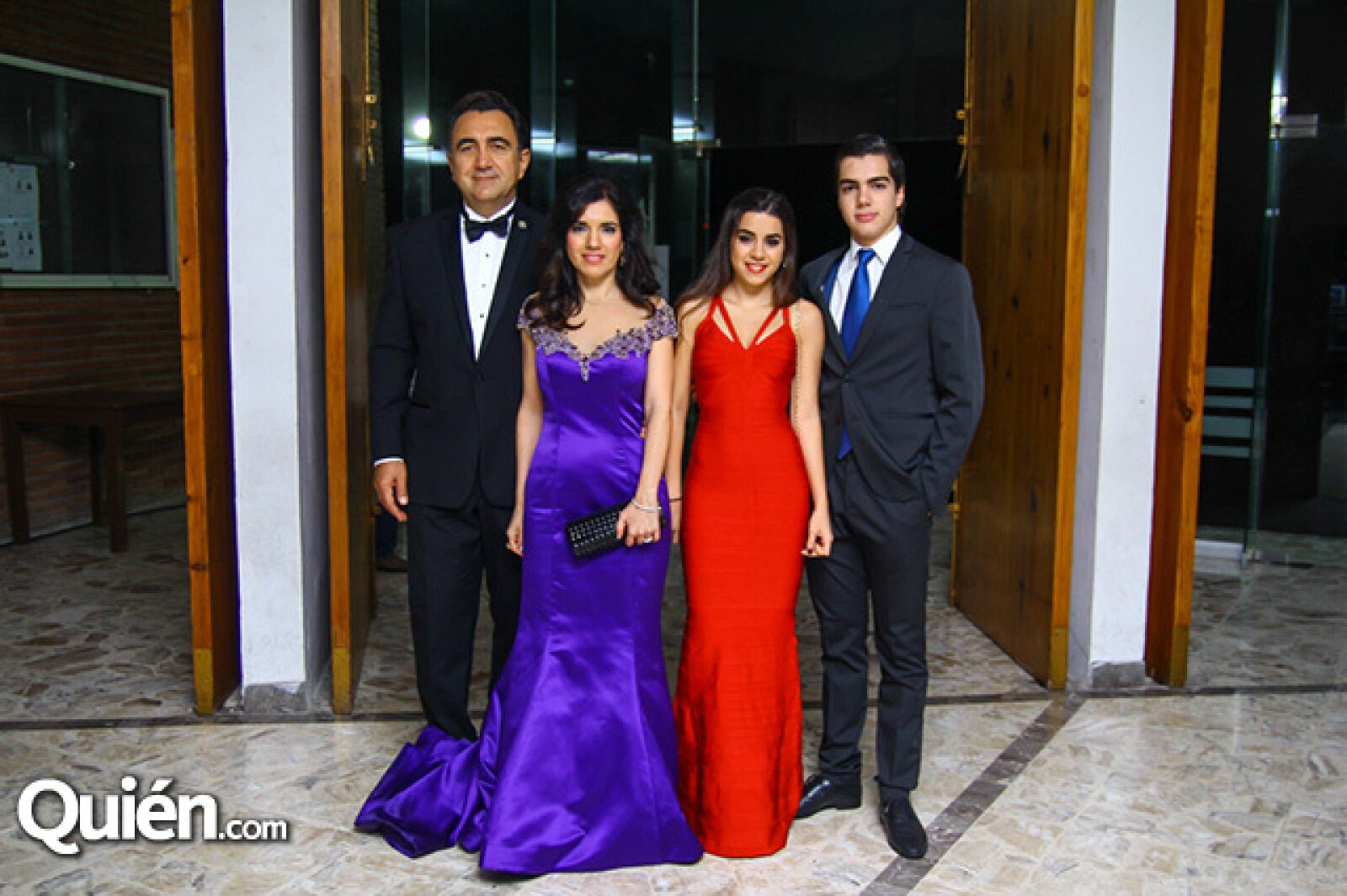 Abdo Esper,Mónica Marcos de Esper,Sofía Esper y Abdo Esper