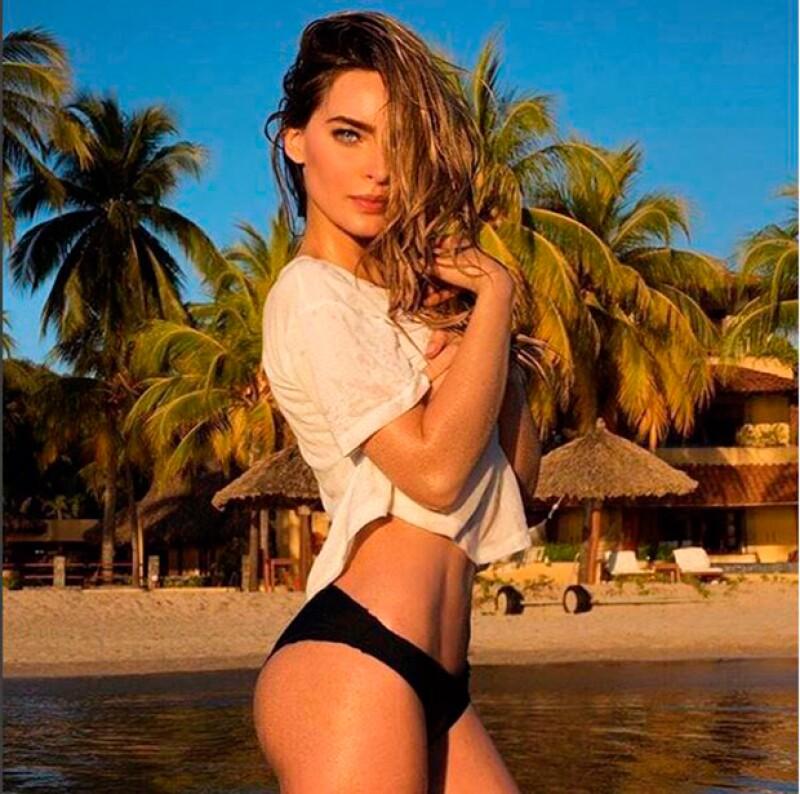 Las últimas semanas Belinda ha incendiado las redes con sexys fotos.