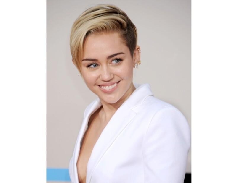 Miley probó cocteles inspirados en ella.