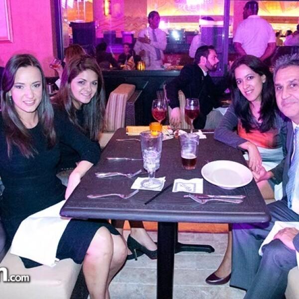 Naiby Silva, Ibiany García, Marisela Medina y Eduardo Soto