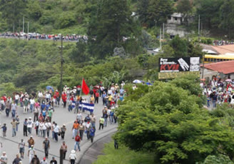 Las protestas de los seguidores de Manuel Zelaya se habían detenido con las restricciones impuestas por el Gobierno de facto. (Foto: Reuters)