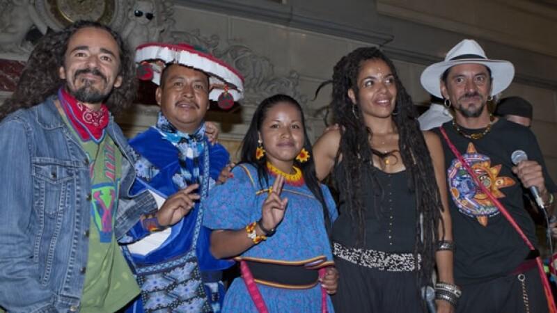 El colectivo AHO presenta el Wirikuta Fest