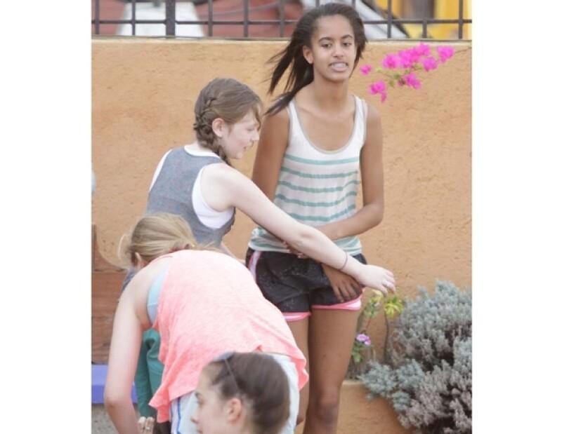 Malia Ann Obama es la hija mayor de Barack Obama.