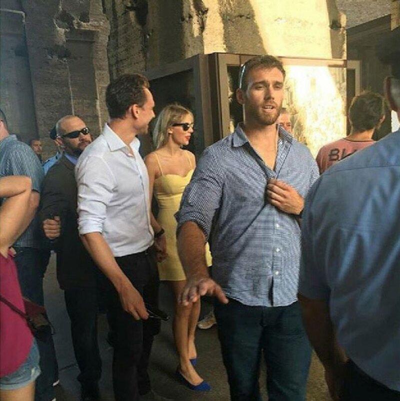 El Coliseo es uno de los lugares que visitó la pareja.