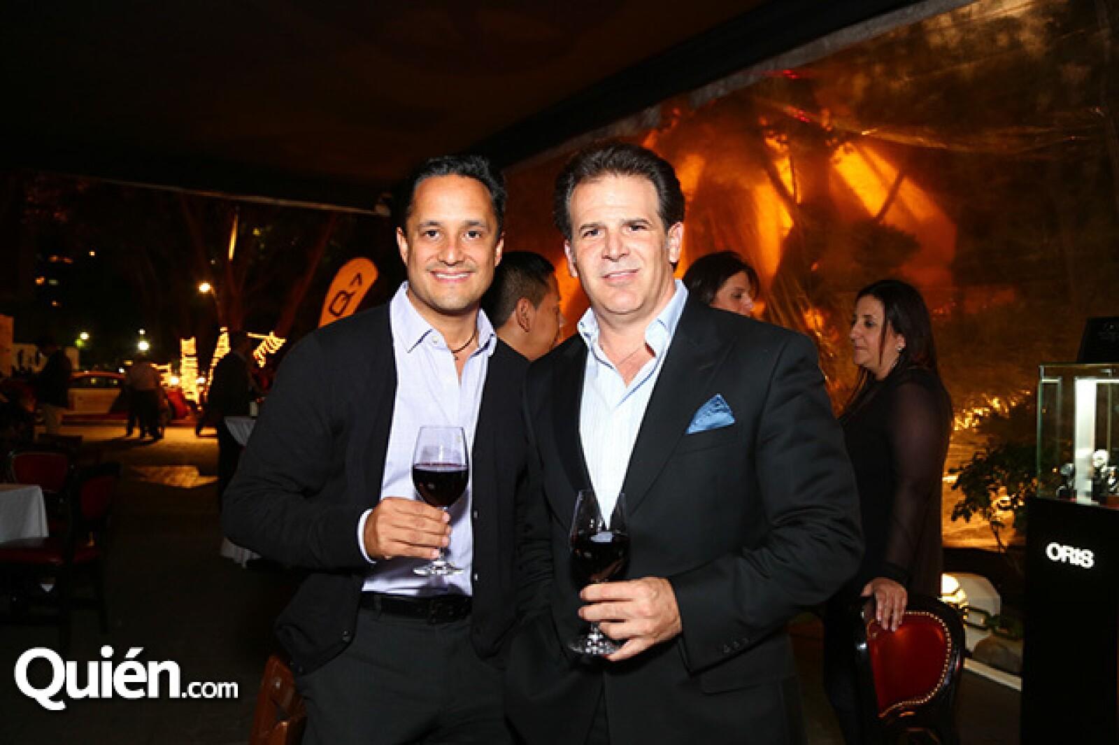 Antonio Segura y René Arredondo