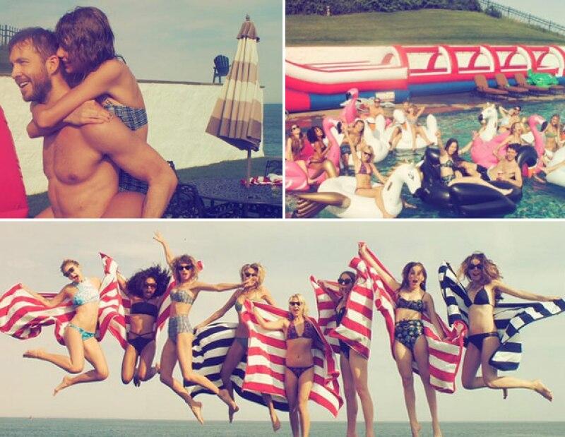 Londres, Paris o New York. Celebs como Taylor Swift, Eiza González, Belinda y Justin Bieber pasan este verano al rededor del mundo.