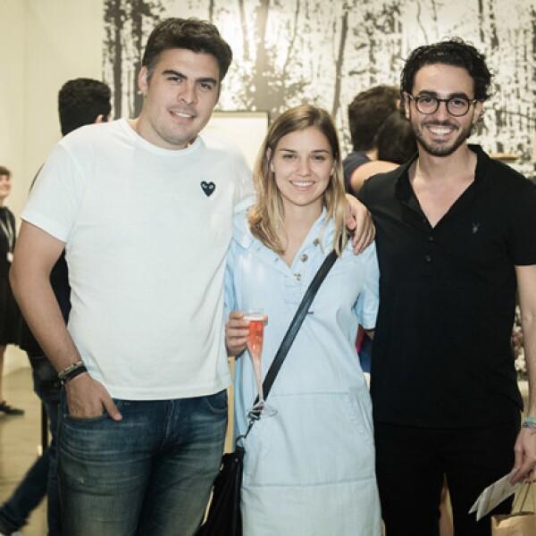 Julio Sherer,Jimena Vilalobos y Miguel Ampudia