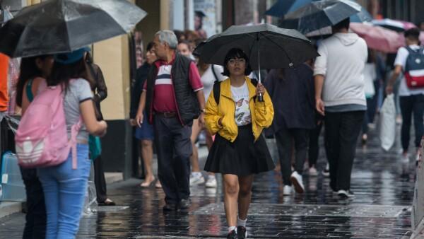 pronostico de lluvias en estados