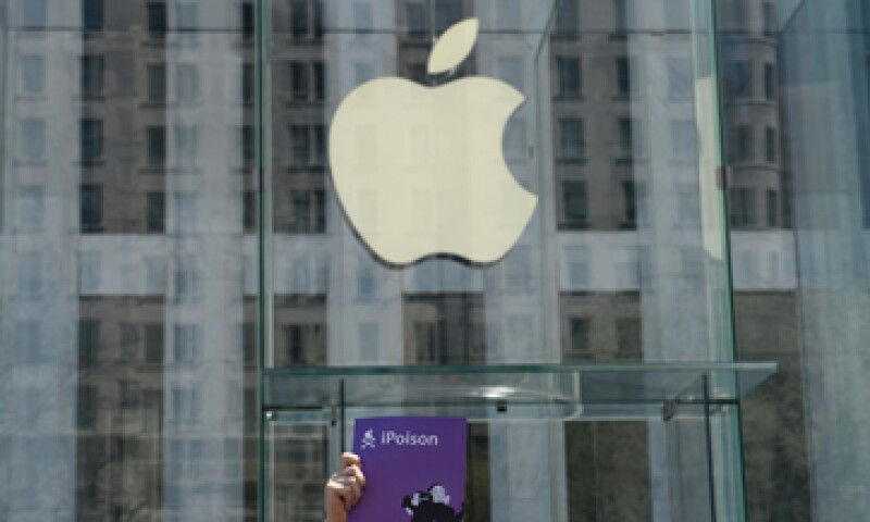 Apple registró ganancias de 1.28 dólares por acción. (Foto: Reuters)