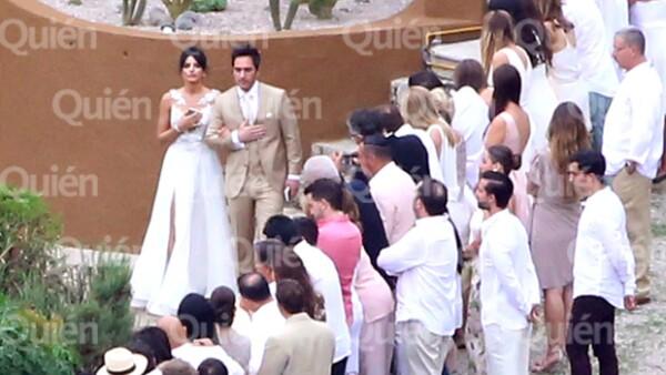 Los actores unieron su vida en matrimonio con una ceremonia en Tepoztlán, Morelos, en la que estuvieron acompañados de sus familiares y amigos.