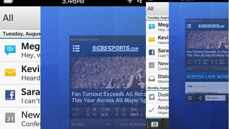 Con la nueva opción 'Peek', podrás cambiar entre aplicaciones sin la necesidad de regresar a tu pantalla de inicio, lo que acelera la posibilidad de multitarea del equipo.