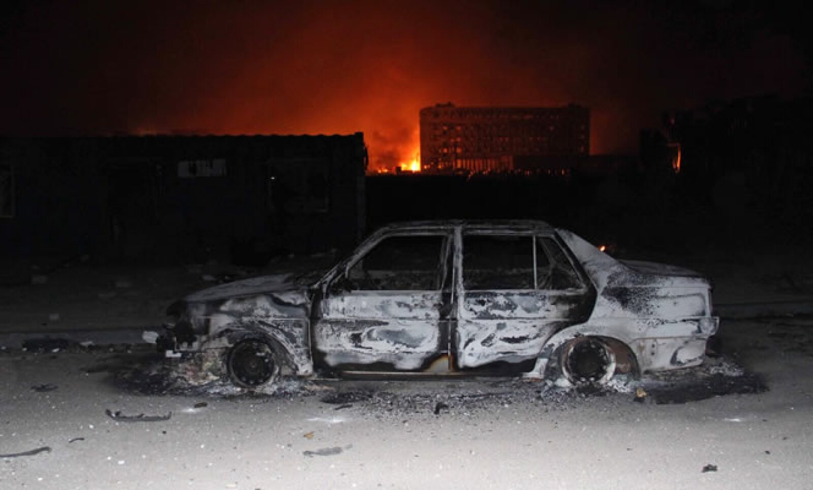 La magnitud de la primera explosión equivaldría a la de tres toneladas de TNT, y  la segunda a la de 21 toneladas, según un centro estatal.