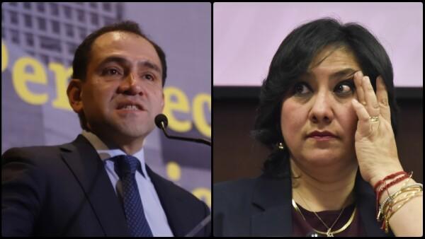 Arturo Herrera e Irma Eréndira Sandoval