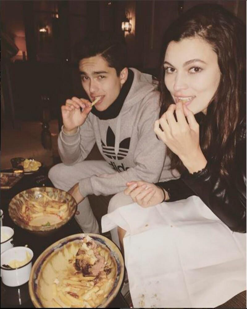 Según relató Natália, ella no esperaba que Sergio le llamara.