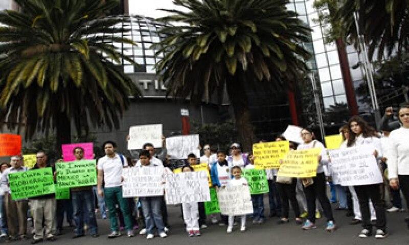 El martes 6 de enero los ahorradores de Ficrea marcharán del Monumento a la Revolución al Ángel de la Independencia. (Foto: Cuartoscuro)