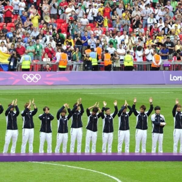 corea del sur medalla futbol