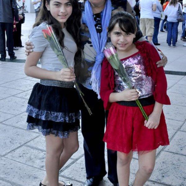 Eileen, Alejandra y Tiby Sotomayor