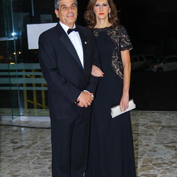 Santiago Roel y Lucía Santos de Roel
