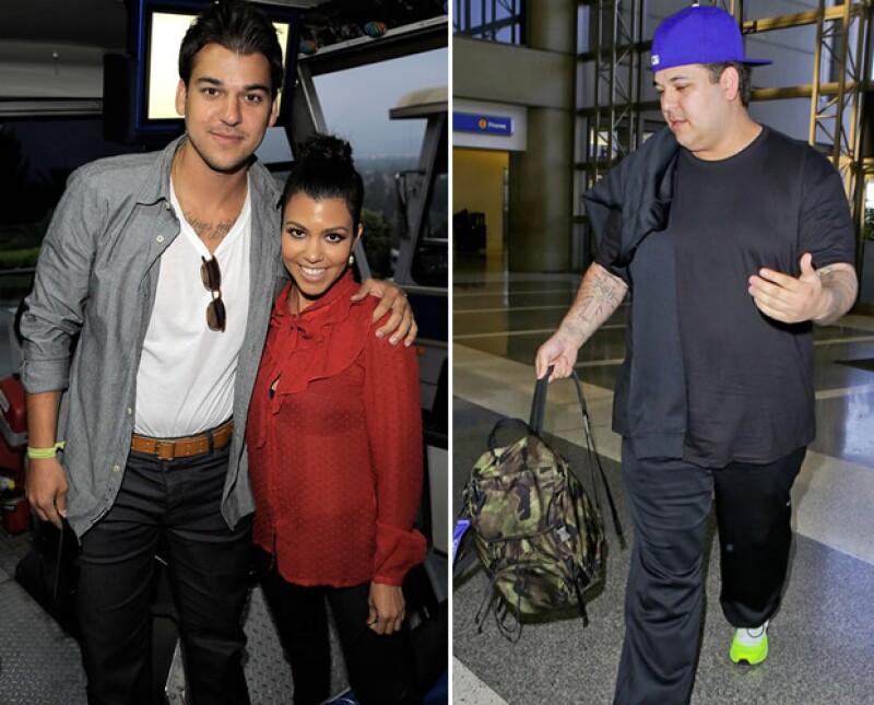 El hermano menor de Kim Kardashian ha ingresado en un centro para lidiar con sus problemas de adicción a la marihuana y al jarabe para la tos.