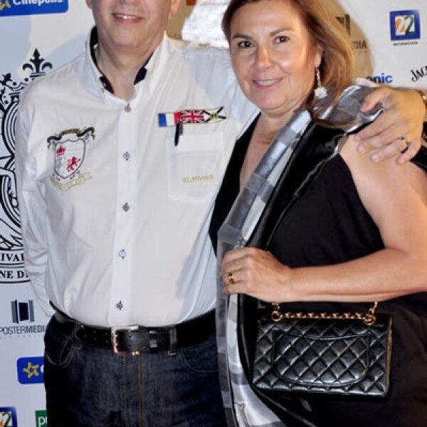 Thierry y Ruth Potok