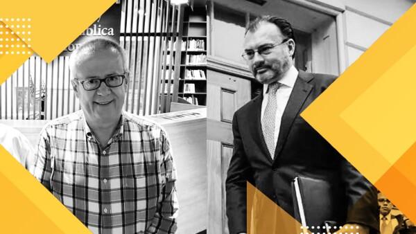 Carlos Urzúa y Luis Videgaray