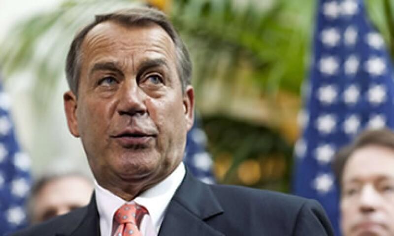 John Boehner dijo que los republicanos se oponen a la extensión por dos meses y que buscan la aprobación de una medida más duradera. (Foto: Reuters)