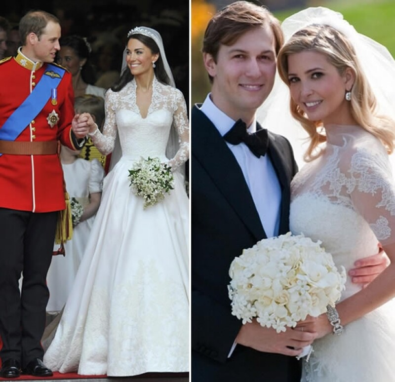 Kate Middleton e Ivanka Trump.