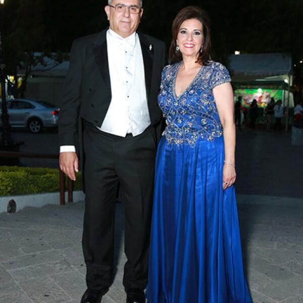 Gerardo Bracho y Alejandra Bremer.