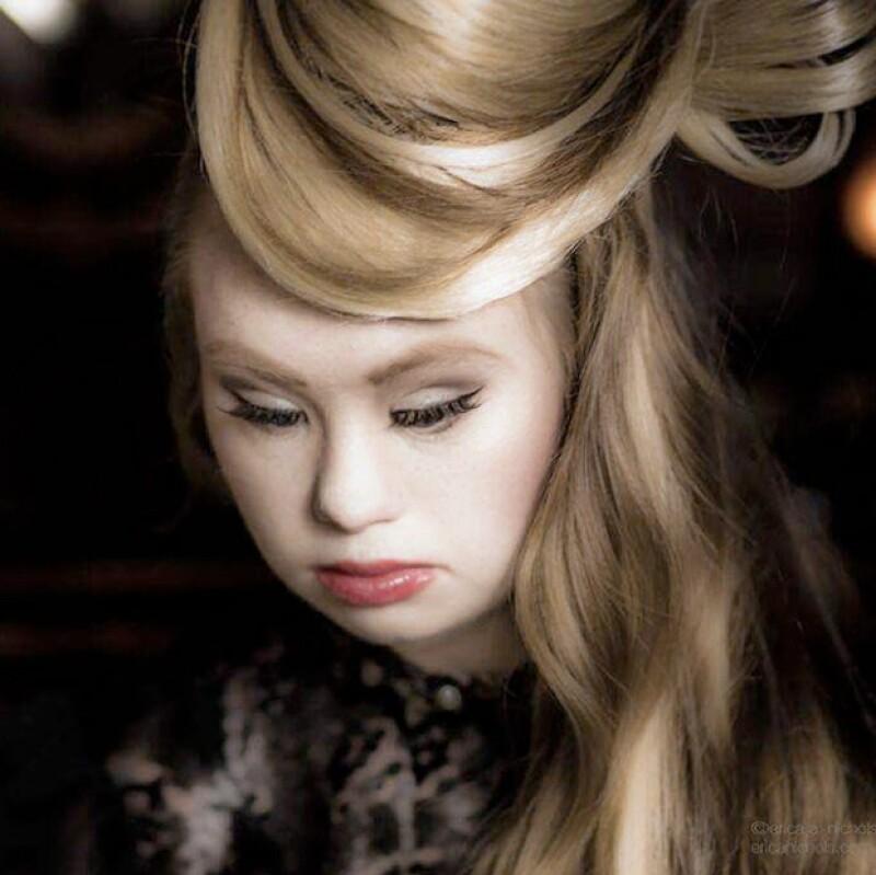 Es la primera modelo con síndrome de Down en presentarse en la semana de la moda de Nueva York. Su inspiradora historia está acaparando titulares.