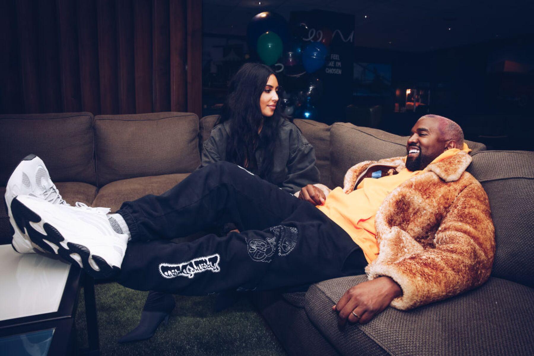 Kanye West se disculpa con Kim Kardashian, en público, por tweets ...