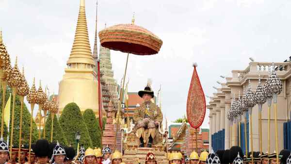 King Rama X Coronation, Grand Palace, Bangkok, Thailand - 04 May 2019