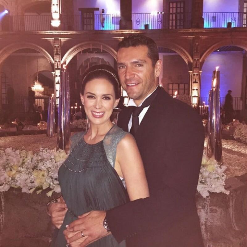 Jacky y Martín cumplieron recientemente tres años de casados.