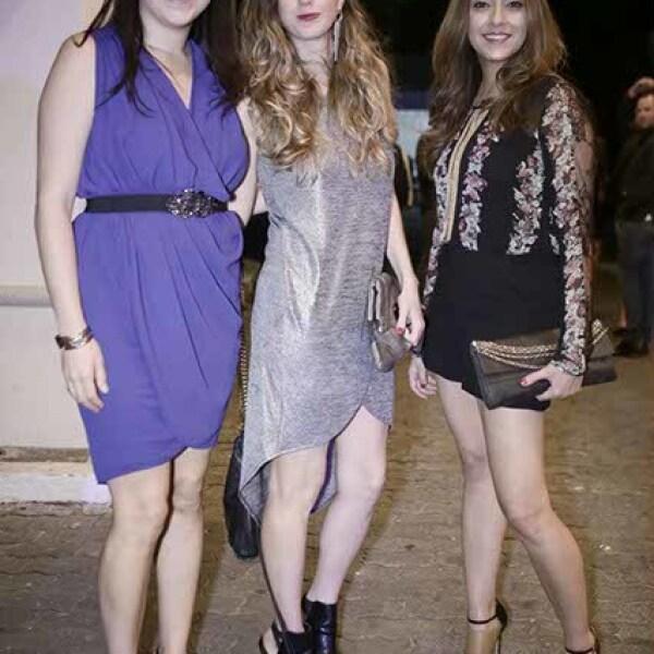 Claret Uribe,Denise Casillas y Romina Postlethwaite