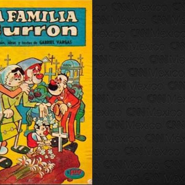 portada de un cómic de los Burrón