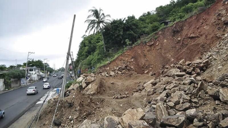 Deslave Trudy Acapulco Guerrero