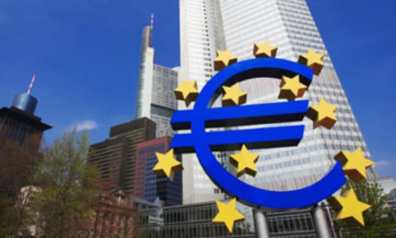 Los depósitos en el Banco Central Europeo significan que el sector financiero enfrenta dificultades por la crisis de deuda en la eurozona. (Foto: Thinkstock)