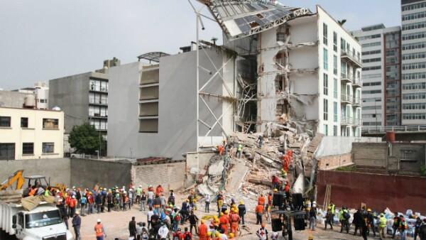 sismo edificios daños derrumbes