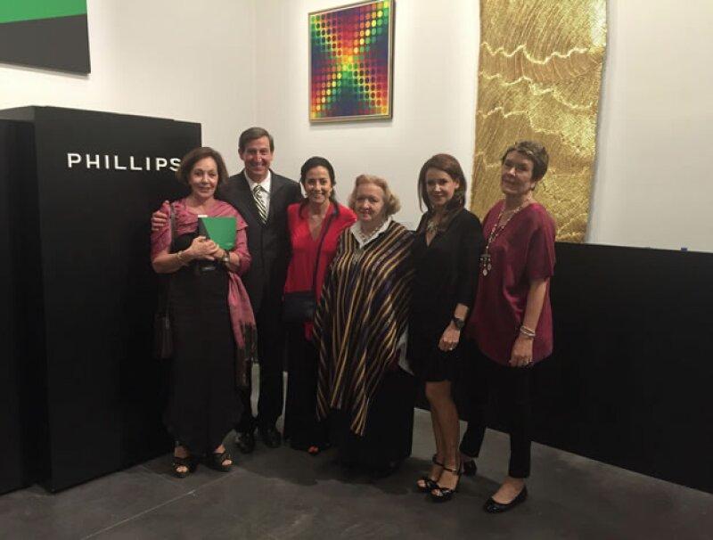 Una selección de piezas de integrantes del programa Grandes Maestros del Arte Popular Mexicano de Banamex se subastó por primera vez en la Casa Phillips de Nueva York con un exitoso resultado.