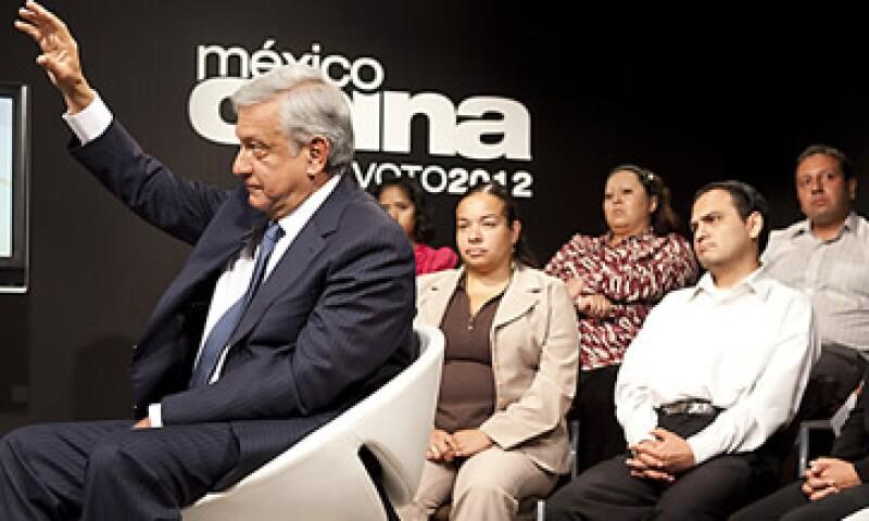 Andrés Manuel López Obrador llamó a impulsar la actividad productiva. (Foto: Grupo Expansión)