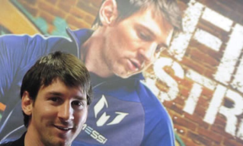 Detrás de Messi están el inglés David Beckham (41.6 mdd) y el portugués Cristiano Ronaldo, (38.6 mdd). (Foto: AP)