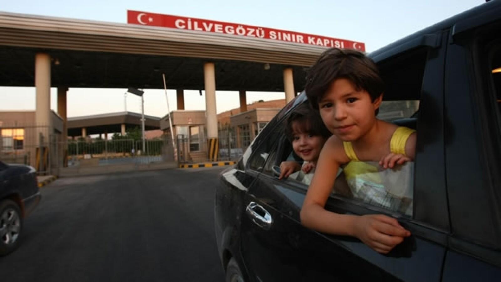 refugiados, siria, guerra, niños