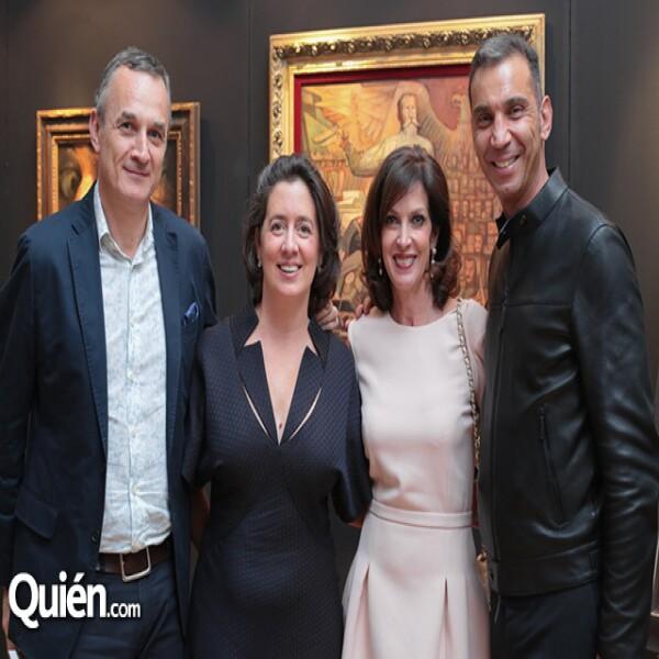 Christian Valdelièvre, María de la Plazuela, Aimée Servitje, Boris Hirmas