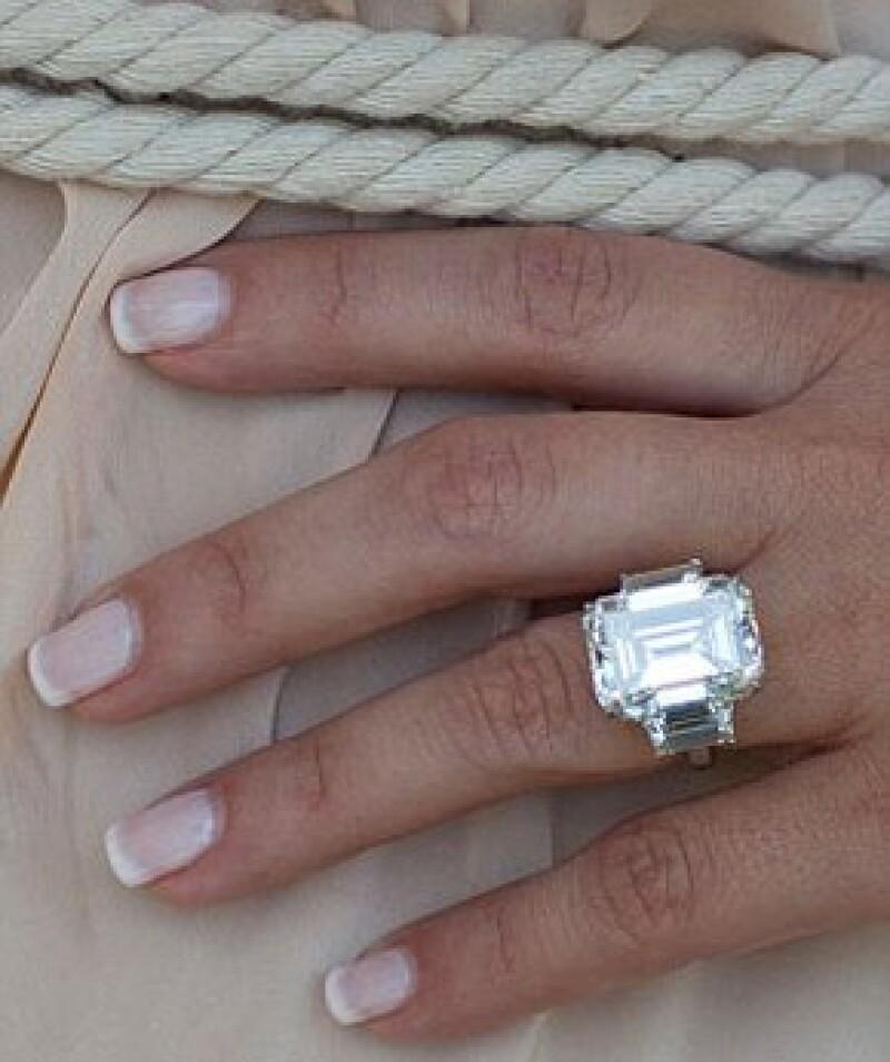 En su momento el anillo de Kim dio mucho de qué hablar.