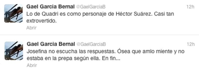 Post de Gael García.
