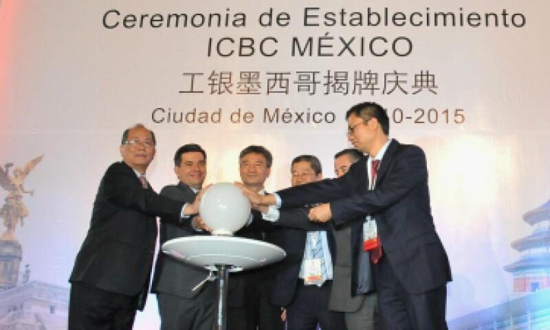 El Banco Industrial y Comercial de China concretó su establecimiento en México. (Foto: SHCP/ Cortesía)