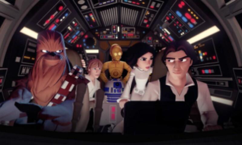 El videojuego 'Disney Infinity 3.0' acaba de sumar personajes de 'Star Wars' (Foto: Disney/Cortesía )