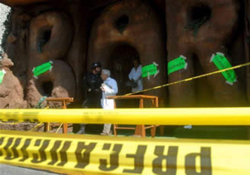 La reconstrucción de los hechos inició en punto de las 5:00 am. (Foto: Notimex)