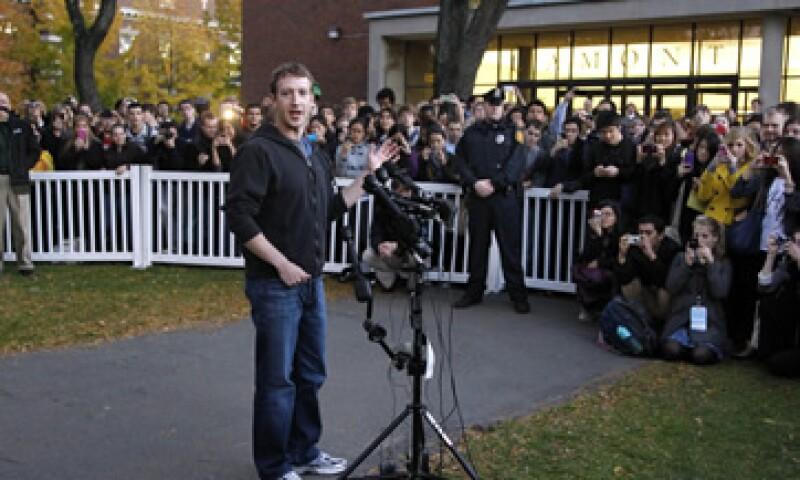 Mark Zuckerberg argumentó sobre el término en un escrito de 479 palabras. (Foto: AP)