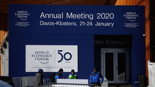 WEF 2020 - World Economic Forum - 2020 - Davos - Suiza